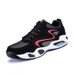 Men Air Cushion Shock Absorption Breathable Running Shoes -
