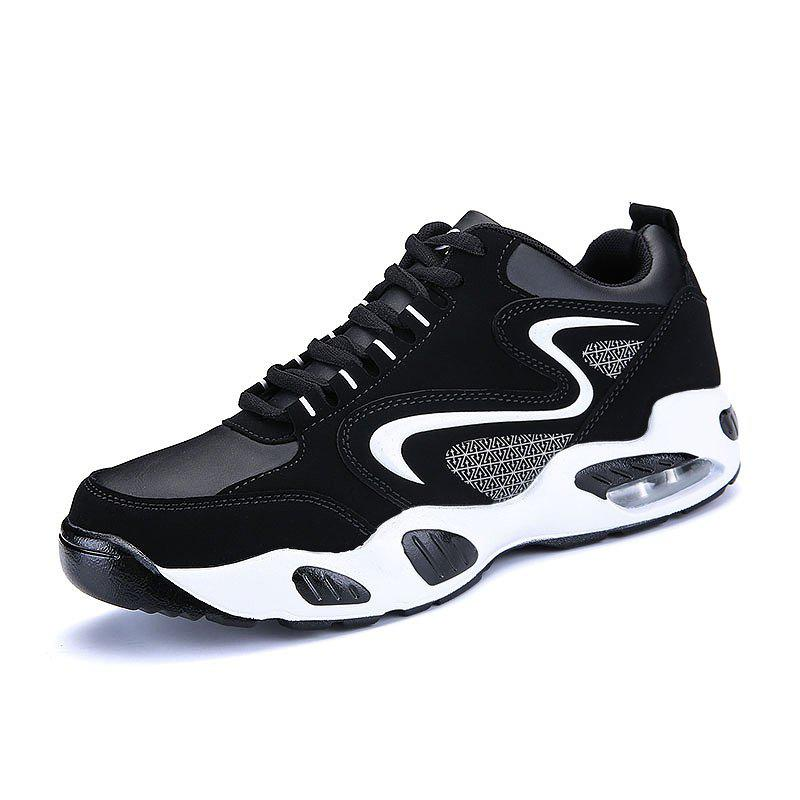 Affordable Men Air Cushion Shock Absorption Breathable Running Shoes