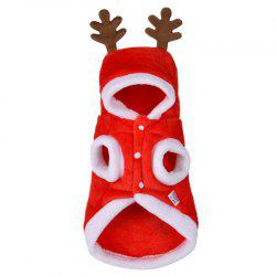 YEDUO Christmas Dog Clothes Winte Coat Clothing Santa Costume Pet Dog -