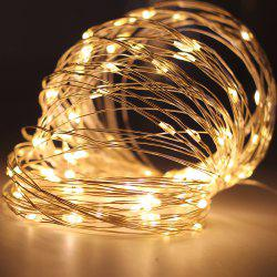 YEDUO Copper Wire LED String Lights Night For Garland Fairy Christmas Tree -