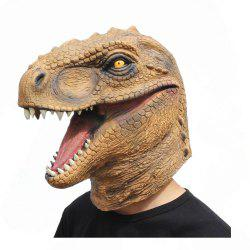 Costume d'Halloween Fête Animal Jurassic Masque Dinosaure -