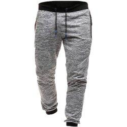 Fashion Snowflake Pants Casual Men's Wild Sports Pants -
