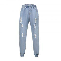 In The Fall of Cultivate One'S Morality Foot Hole Cowboy Pants -
