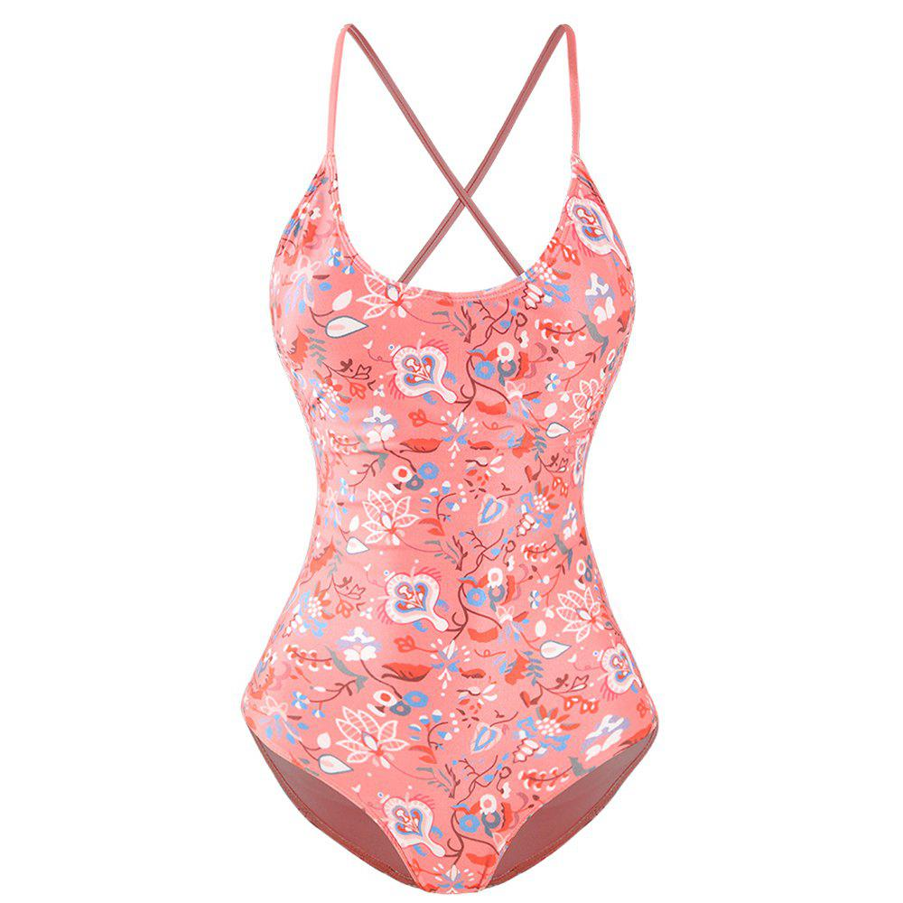 Store MISSOMO Tie Backless Swimsuit Pink
