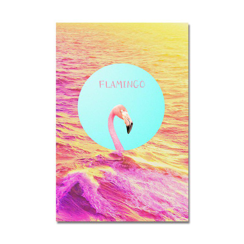 DYC Sweet Sea Scenery Flamingos Print Art
