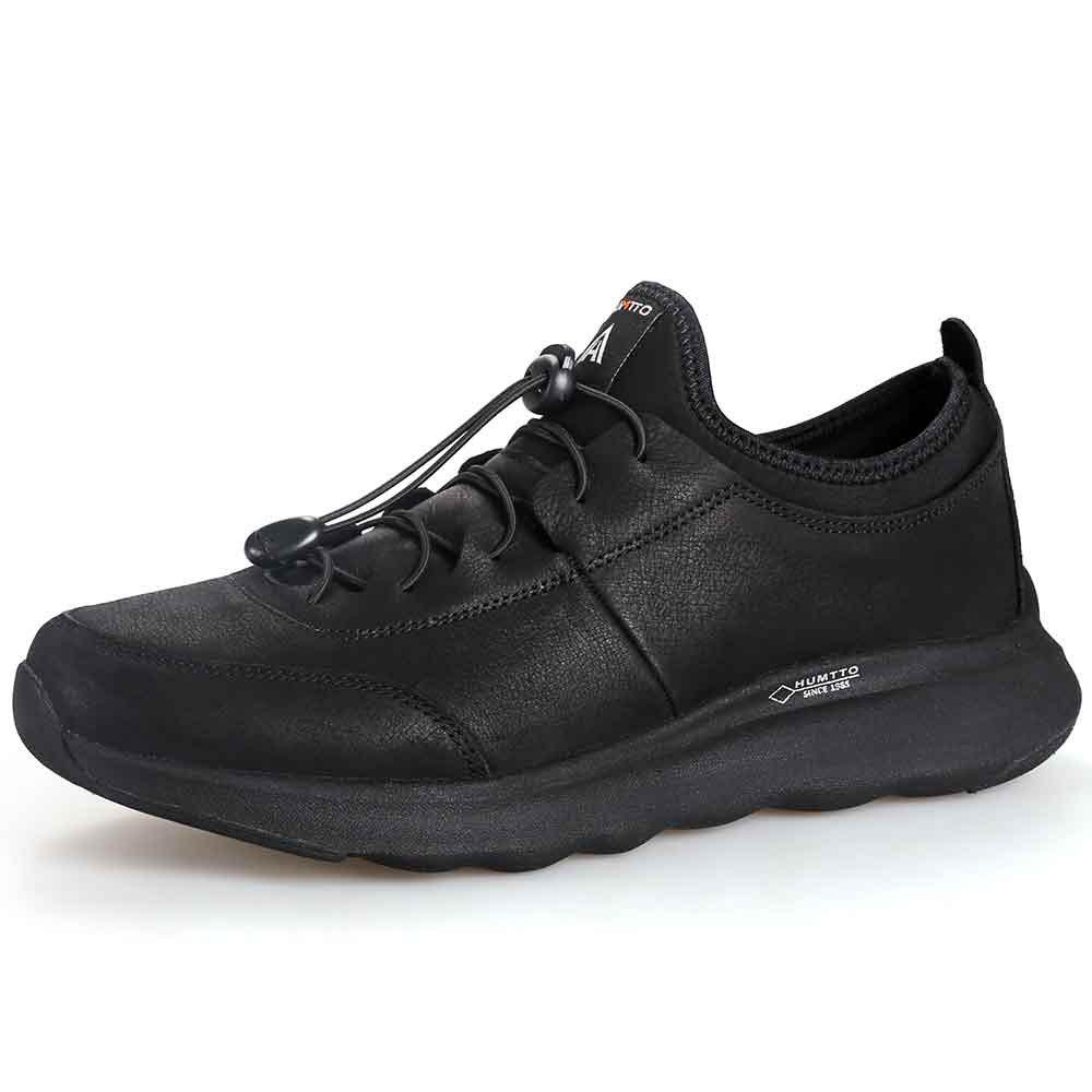 Store HUMTTO Running Shoes Men Outdoor Breathable Lace-Up Jogging Shoes