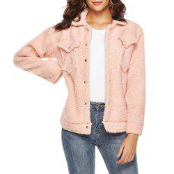 Hiver Casual Temperament loisirs Mao Mao Manches Longues -
