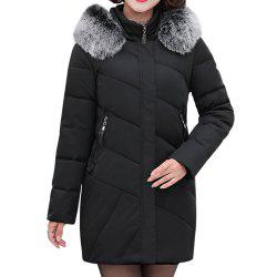 2018 Winter Jacket Women Clothing Middle and Old Aged Cotton Jacket -