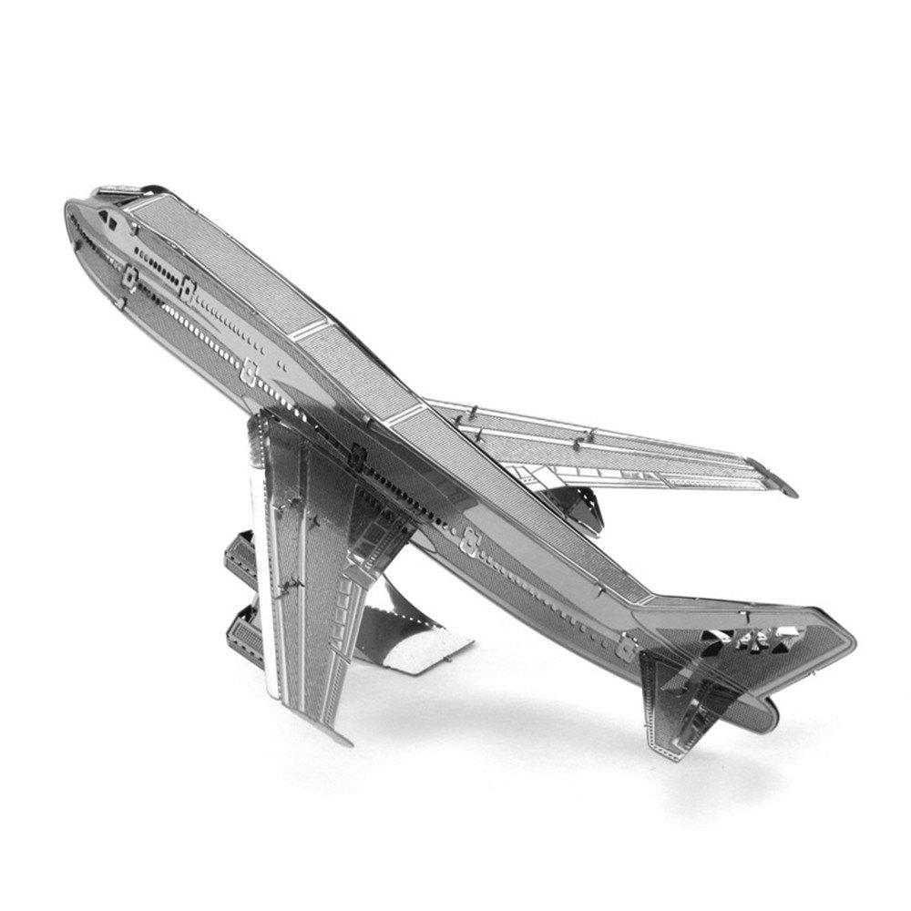 Boeing 747 3D Metal High-quality DIY Laser Cut Puzzles Jigsaw Model Toy