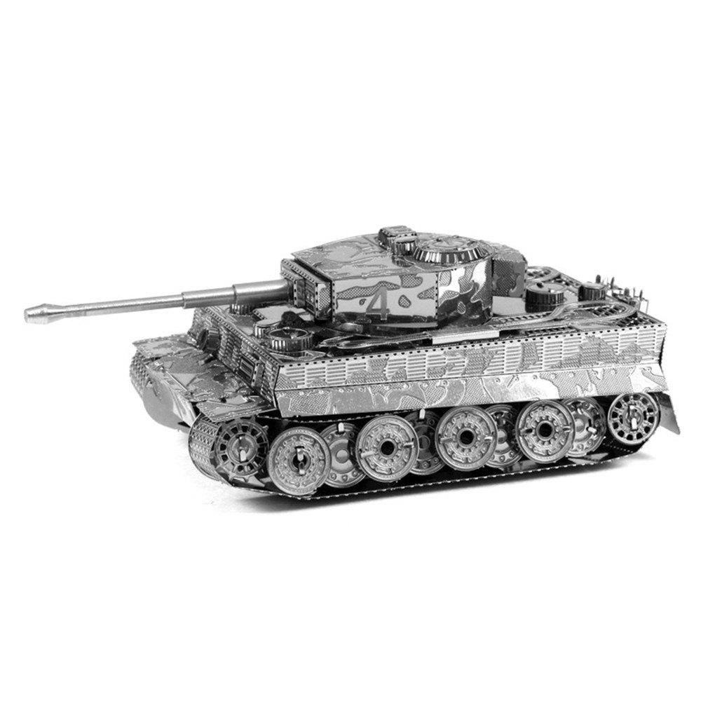 Tiger Tank 3D Metal High-quality DIY Laser Cut Puzzles Jigsaw Model Toy