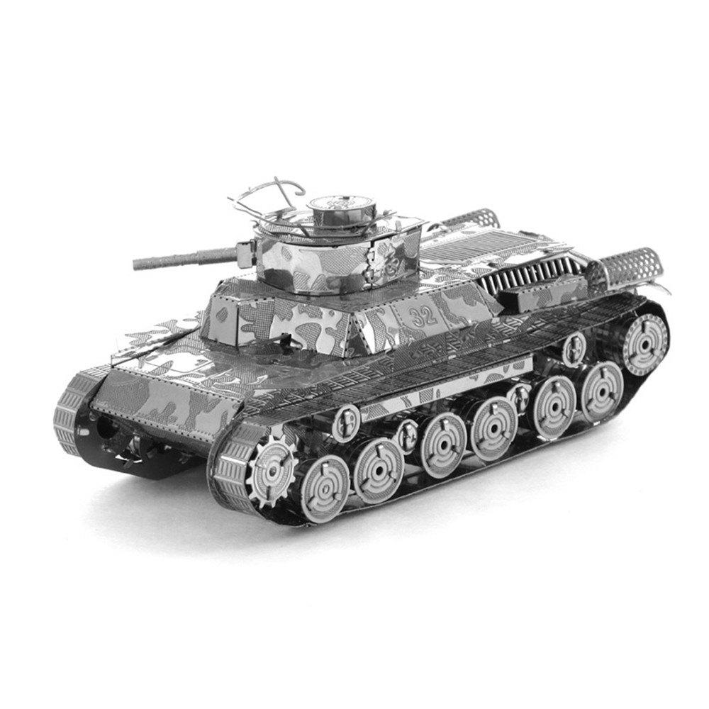 Type 97 Tank 3D Metal High-quality DIY Laser Cut Puzzles Jigsaw Model Toy
