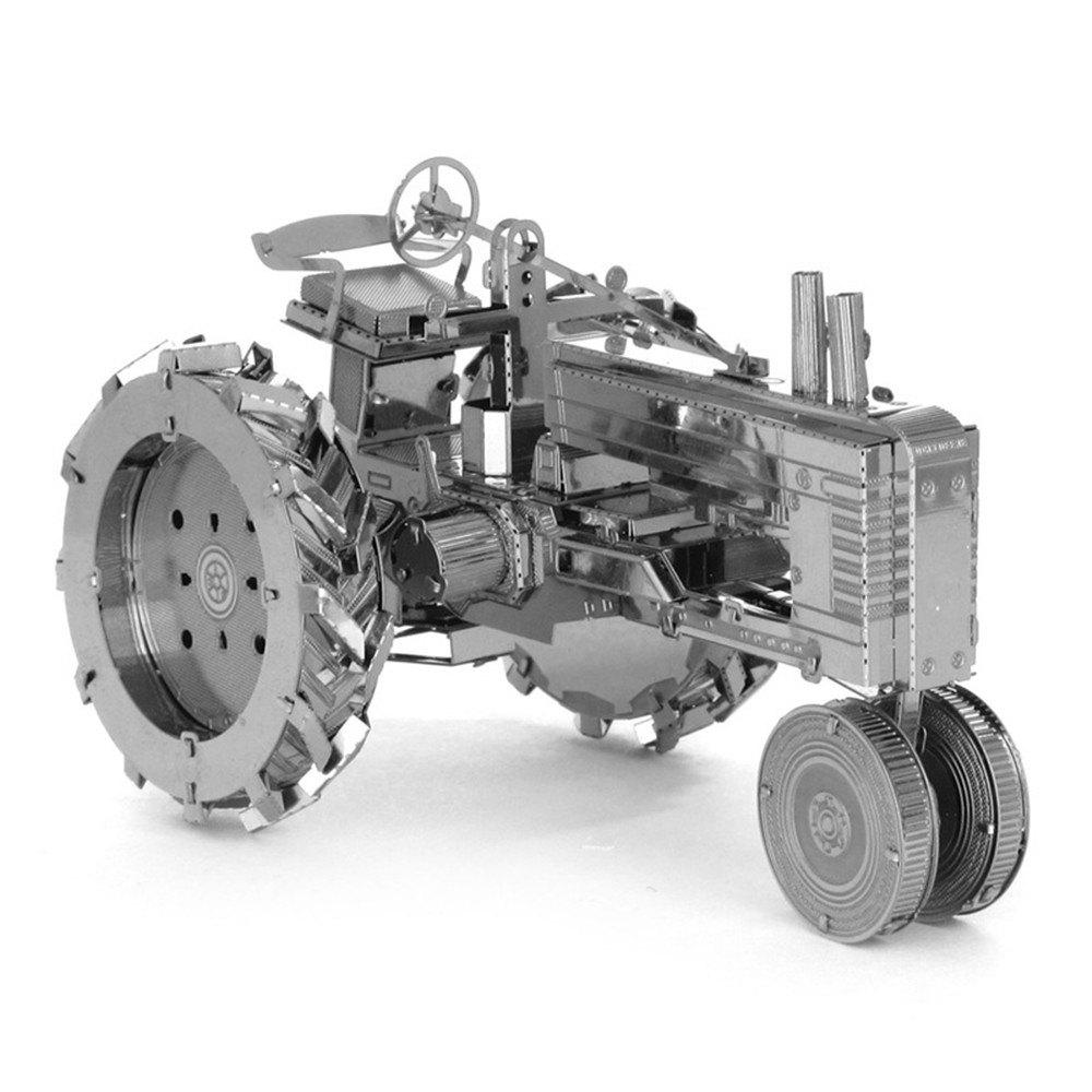Tractor 3D Metal High-quality DIY Laser Cut Puzzles Jigsaw Model Toy