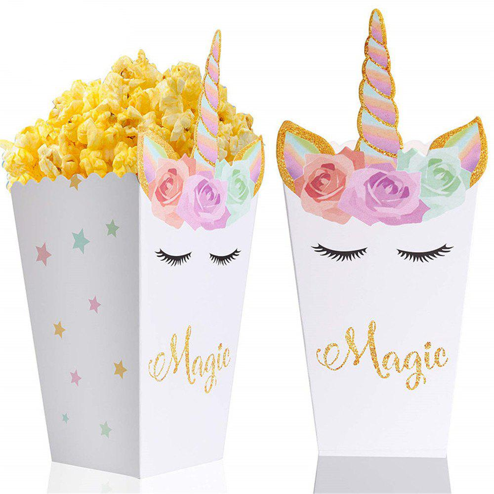 12 PCS Popcorn Candy Treat Snack Boxes for Wedding Birthday Christmas Party