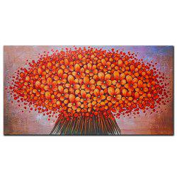 YISHIYUAN 1 шт. HD-струйные краски Red Abstract Flower Decorative Painting -