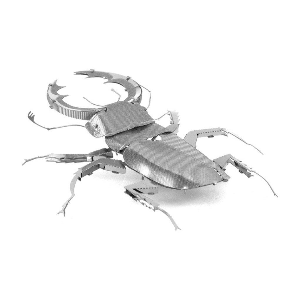 Beetle 3D Metal High-quality DIY Laser Cut Puzzles Jigsaw Model Toy