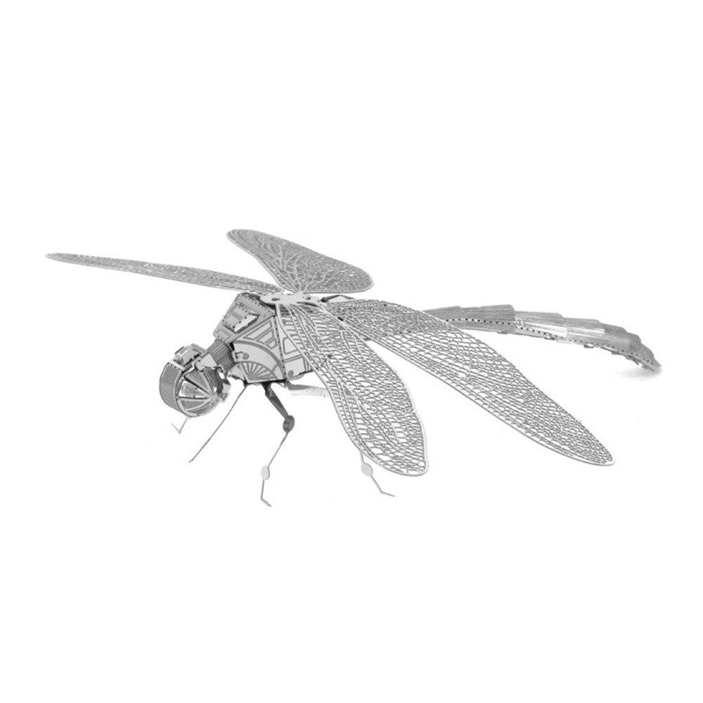 Dragonfly 3D Metal High-quality DIY Laser Cut Puzzles Jigsaw Model Toy
