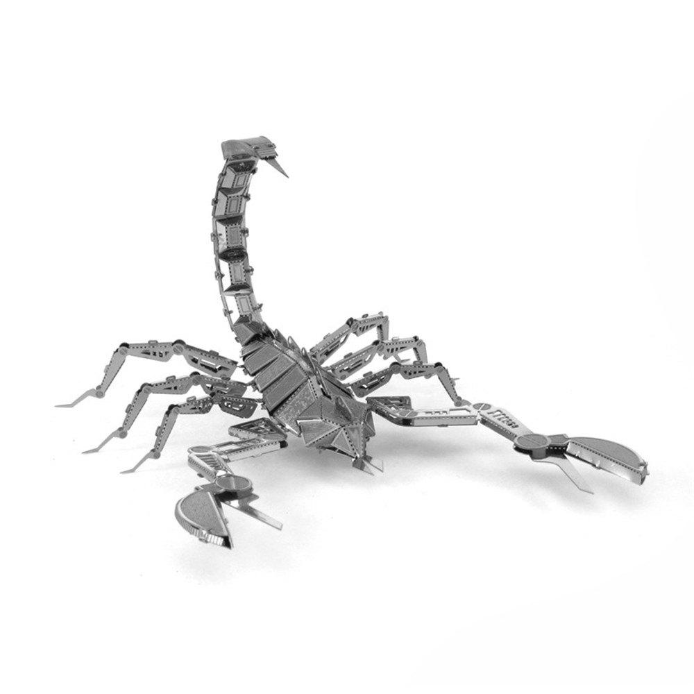 Scorpion 3D Metal High-quality DIY Laser Cut Puzzles Jigsaw Model Toy