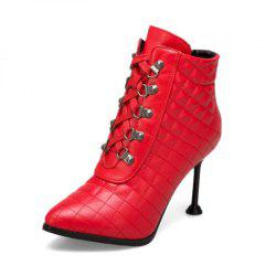 Stiletto Boots with Stiletto Top -