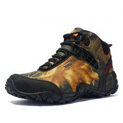 Men High-Top Non-Slip Wear-Resistant Hiking Outdoor Hiking Shoes -