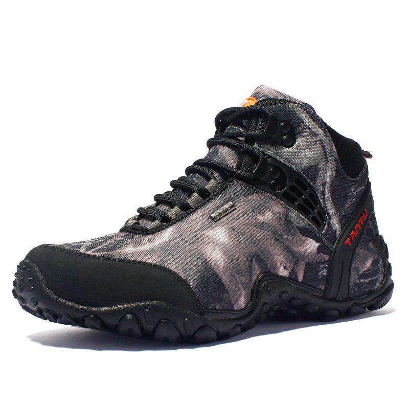Buy Men High-Top Non-Slip Wear-Resistant Hiking Outdoor Hiking Shoes