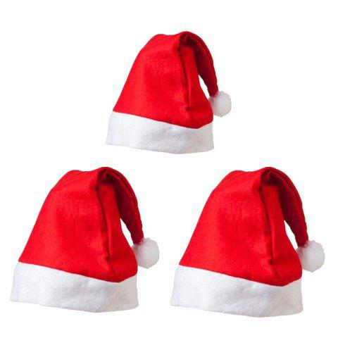 33a7a749fd2 Non-Woven Adult Children S Christmas Hat Christmas Gifts 3PCS