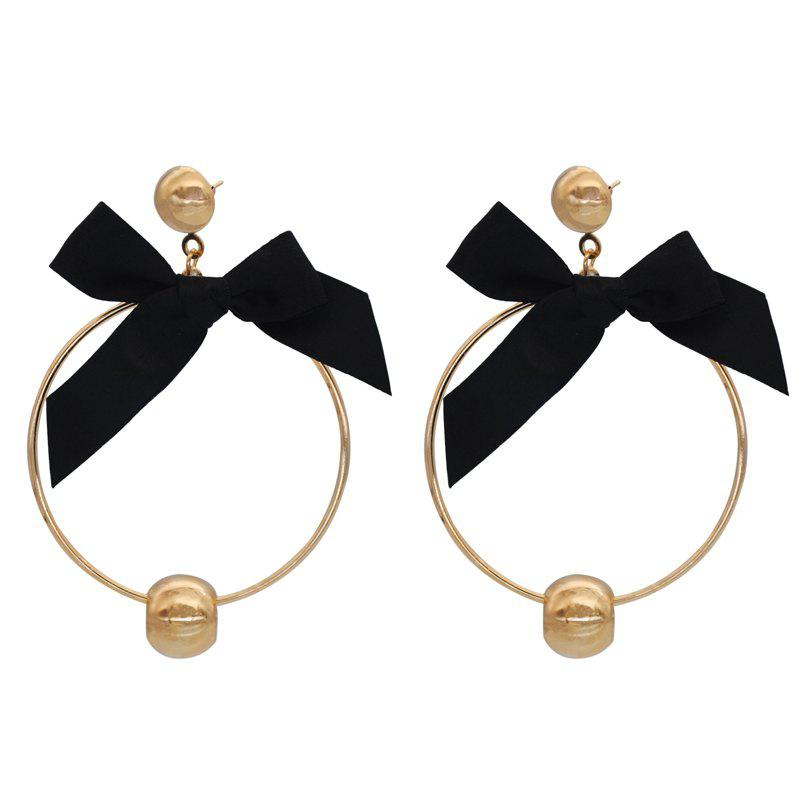 Fashion Cool Stylish Bow Design Earring, Gold