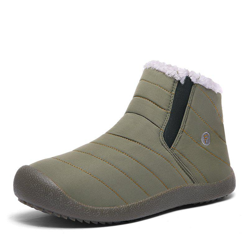 Trendy Middle Cotton Shoes Snow Boots