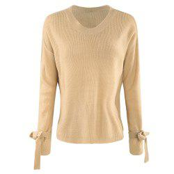 HAODUOYI Women'S Autumn Simple Sweater Yellow -