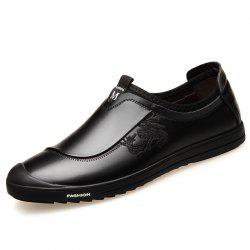 Casual Shoes Men'S Soft Bottom Leather Shoes -
