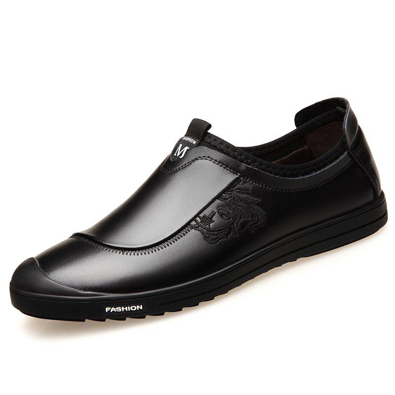 Outfits Casual Shoes Men'S Soft Bottom Leather Shoes