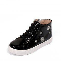 Louise Cliffe Girls' Single Boots High-Top Children'S Sneaker Students' Shoes Lo -