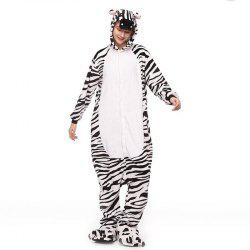 Adult Zebra Animal Onesie Costume Pajamas for Adults and Teens -