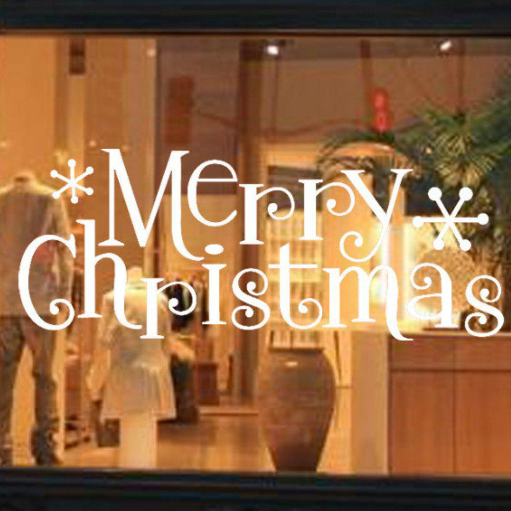 Merry Christmas Wall Sticker Mural  Removable  Home Decor