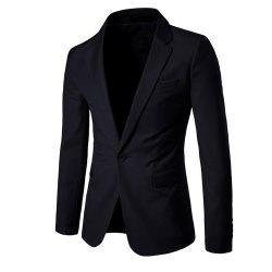 Men's  Solid Color Slim Business Suit -