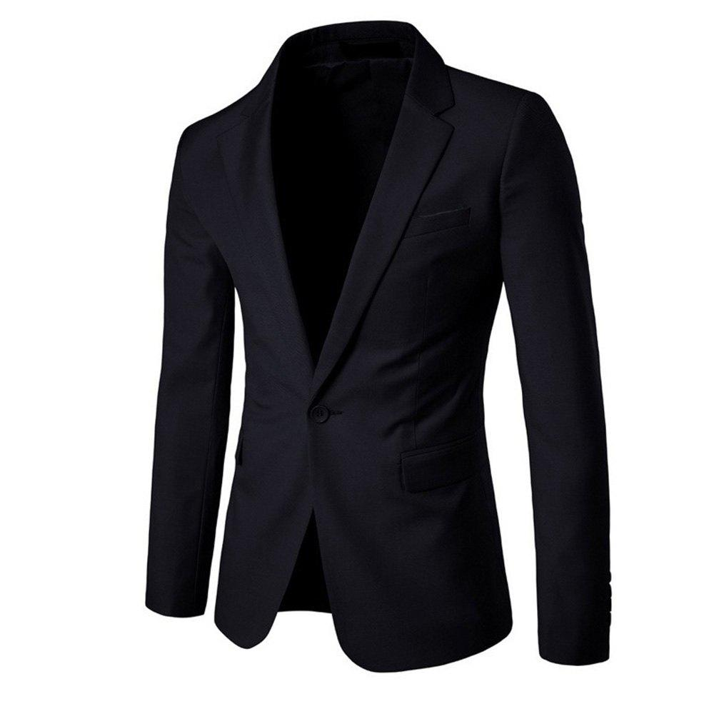 Chic Men's  Solid Color Slim Business Suit