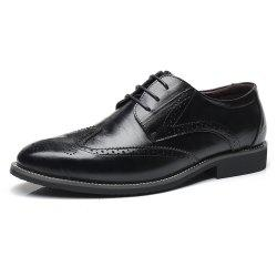 Men Increase The Size of Business Casual Shoes Leather Shoes Men'S Singles Shoes -