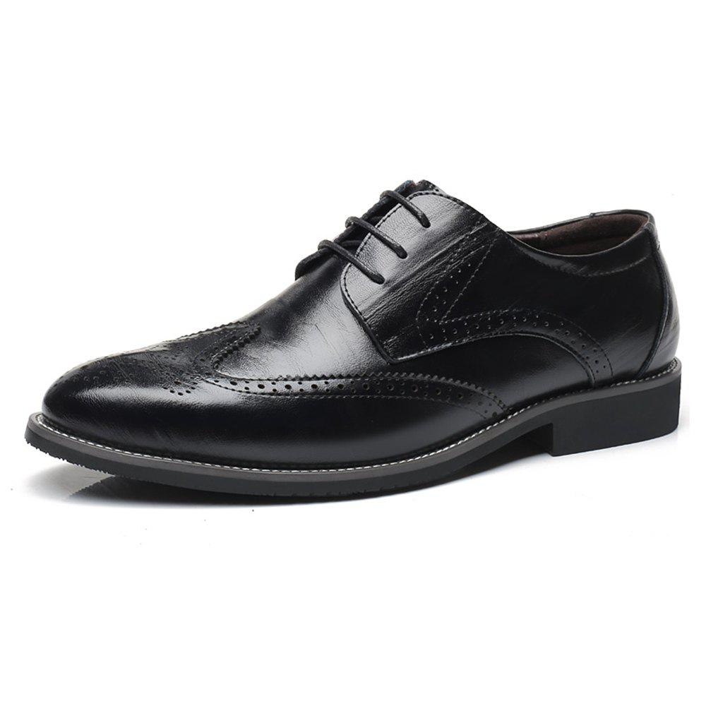 Store Men Increase The Size of Business Casual Shoes Leather Shoes Men'S Singles Shoes