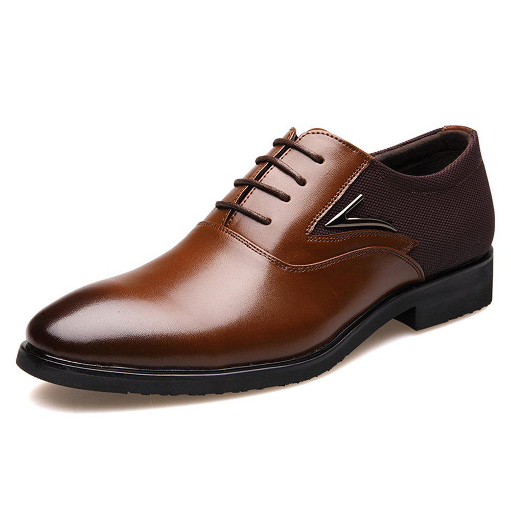 Outfits Male Is Loading Shoes Super Fiber Leather Shoes Single Shoe Size To 48 Yards