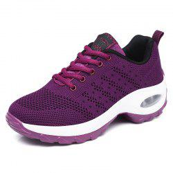 Autumn Sports Shoes Women'S Inside Heighten Sneakers Mesh Breathab -