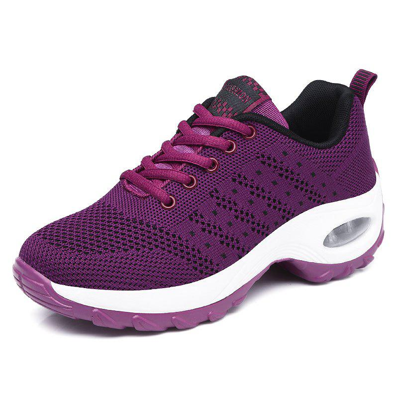 Shops Autumn Sports Shoes Women'S Inside Heighten Sneakers Mesh Breathab
