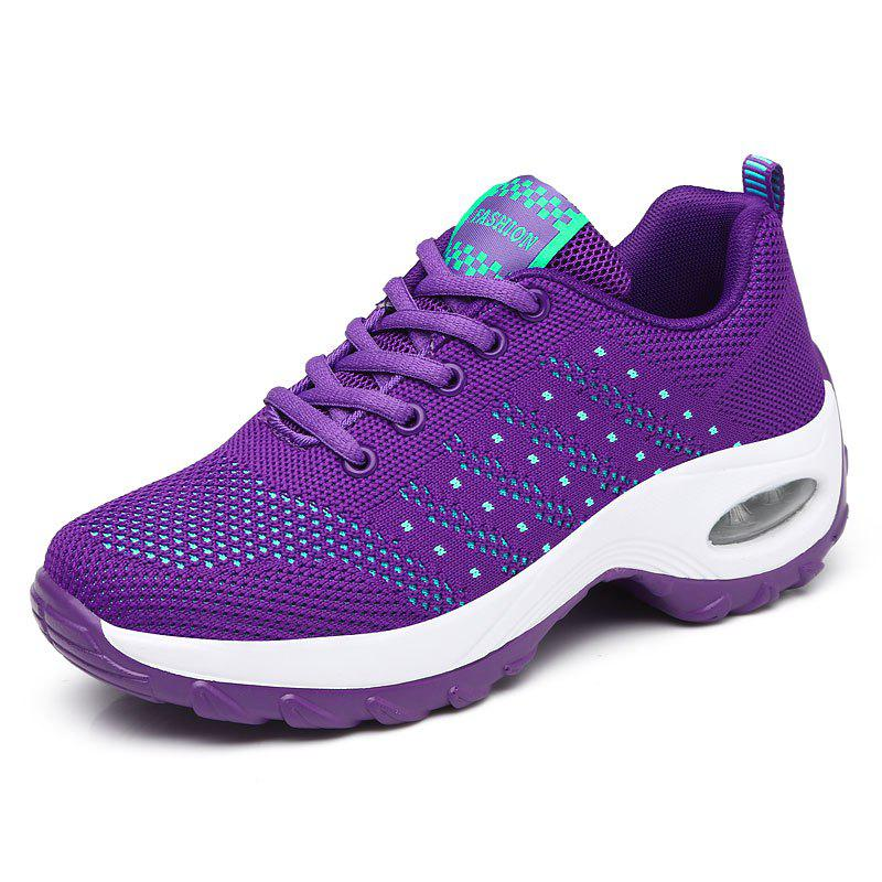 Shop Autumn Sports Shoes Women'S Inside Heighten Sneakers Mesh Breathab