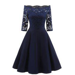 Ladies' Lace Elegant Lace Dress -