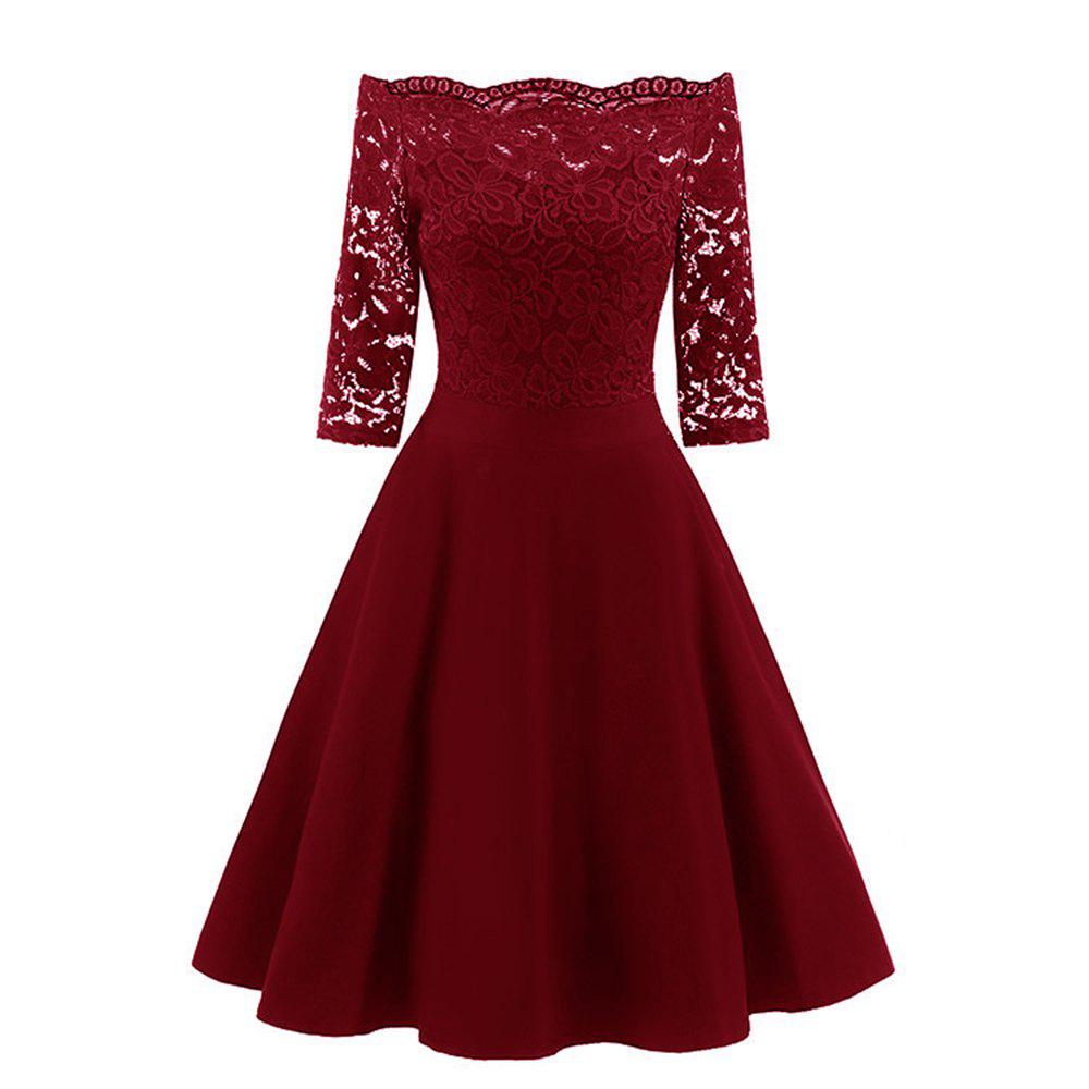 Best Ladies' Lace Elegant Lace Dress