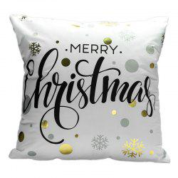 Christmas Hot Stamping And Pillowcase -