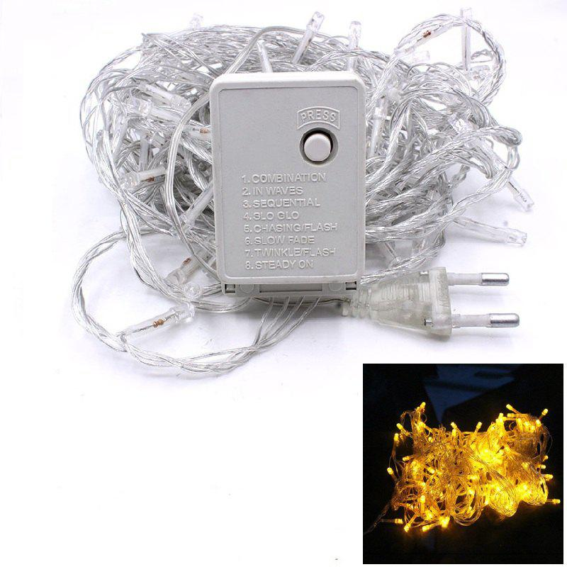 Shop 1PC Waterproof Outdoor Home 10M LED Fairy String Lights Christmas Party Wedding Holiday Decoration