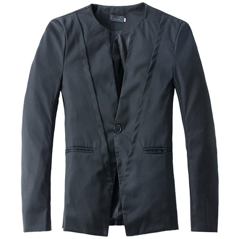 Cheap New Casual V-neck One Button Men's Suit