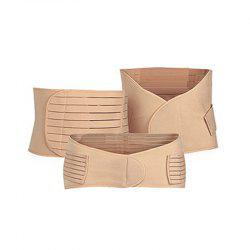 3 шт Body Shaping Belly Belt Set Breathable Multi Function Body Belt Set -