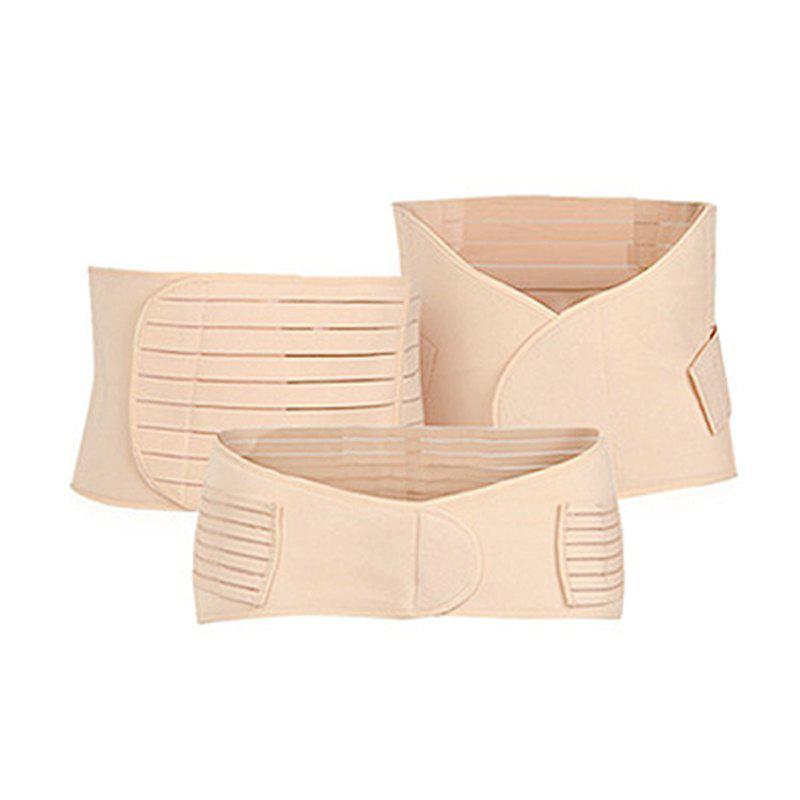 Store 3 Pcs Body Shaping Belly Belt Set Breathable Multi Function Body Belt Set