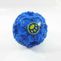 Pet Sound Production Resistance To Bite Toys Dog Educational Leakage Food Ball -