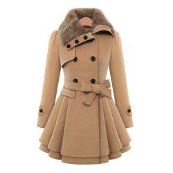 Ladies  big size fur coat  damp thick fur coat  windbreaker top -